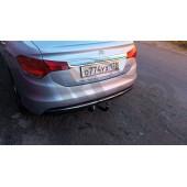 Фаркоп для Citroen (Ситроен) C4 sedan (2013-) без электрики .