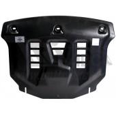 Защита картера двигателя и кпп Kia Sorento Prime (Киа Соренто) (2015-) (Композит 8 мм)