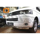 Защита переднего бампера Volkswagen T5 (2012-) (одинарная) d 60