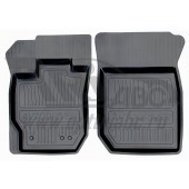 Коврики салона резиновые с бортиком для ВАЗ Ларгус (2012-) (2 передних)