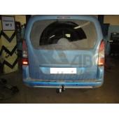 Фаркоп для Peugeot (Пежо) Partner II/PartnerTP(05/2008-)кроме длинной базы, без электрики,