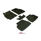 Коврики салона резиновые с бортиком для CHEVROLET EPICA (2006-) (задние коврики с перемычкой)