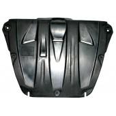 Защита картера двигателя и кпп Honda (Хонда) Pilot V-3,5 (2008-)  (Композит 6 мм)