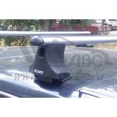Багажник в сборе (Chevrolet Niva) (аэродинамический профиль дуги) (алюмин.)