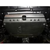 Защита картера двигателя и кпп Kia Ceed (Киа Сид) V-все (2007-2012) / Cerato V-все(2009-12)  (Алюминий 4 мм)