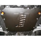 Защита картера двигателя и кпп Chevrolet Cruze (V-все, с 2009-)  А штамп. (Сталь 1,5 мм)