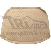 Коврик багажника для Audi (Ауди) A3 Хэтчбек (2008-2012) (беж)