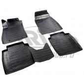 Коврики салона резиновые с бортиком для Nissan Sentra (2013-)