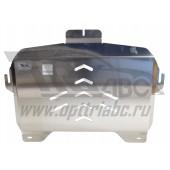 Защита картера двигателя и кпп Acura TLX V-3,5 КПП-все (2015-)  (Алюминий 4 мм)