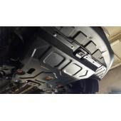 Защита картера двигателя и кпп Chery Tiggo 5, V-все (2014-)  (Сталь 1,8 мм)