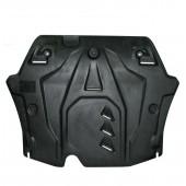 Защита картера двигателя и кпп Honda (Хонда) Accord V-2.4/2,0 (2007-02.2013)  (Композит 6 мм)