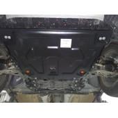 Защита картера двигателя и кпп Ford Kuga (V-1.6, 2013-)  штамп (Сталь 1,8 мм)