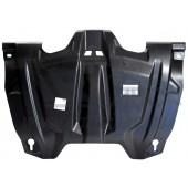 Защита картера двигателя и кпп Toyota Venza V-2,7; АКПП; AWD (2013-)  (Композит 8 мм)
