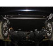 Защита картера двигателя и кпп Vaz 2110/Priora V-все (2007-) (эмаль) (без хомутов)  (Сталь 1,8 мм)