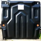Защита картера двигателя и кпп Chevrolet Aveo (Шевроле Авео) (V-все, с 2006-2012)  штамп. (Сталь 1,8 мм)