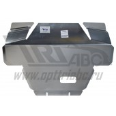 Защита картера Subaru Forester V-2.0, КПП-все (2013-) (Алюминий 4 мм)