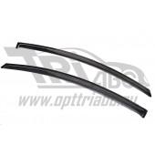 Дефлекторы боковых окон Opel Astra (Опель Астра) GTC Хэтчбек 3 Dor (2011-) (2 части) (темные)