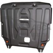 Защита картера двигателя и кпп Hyundai Elantra MD V-все (2011-02.2014) штамп. (Сталь 1,8 мм)