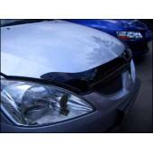 Дефлектор капота Mitsubishi Lancer (Митсубиши Лансер) (2000-2005) (темн.)