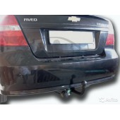 Фаркоп для Chevrolet Aveo (Шевроле Авео) SD (2006-2012)/ZAZ Vida SD (2012-)