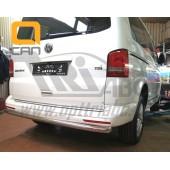 Защита заднего бампера Volkswagen T5 (2012-) (одинарная) d 60