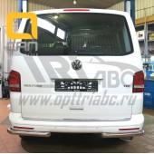 Защита заднего бампера Volkswagen T5 (2012-) (уголки) d 60