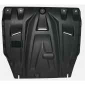 Защита картера двигателя и кпп Hyundai i20 V-все (2009-) + КПП (Композит 6 мм)