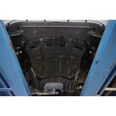 Защита картера двигателя и кпп Honda (Хонда) Civic (Цивик) 5D хэтчбек V-все (2012-) -все (Композит 6 мм)