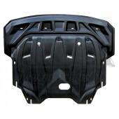 Защита картера двигателя и кпп Hyundai I40 V-все, (2012-)  (Композит 6 мм)