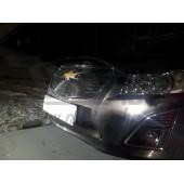 Защита радиатора Chevrolet Cruze 2013-  black верх