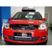 Дефлектор капота Ford Fiesta (Форд Фиеста) (2006-) (темный)