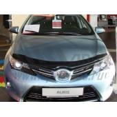 Дефлектор капота Toyota Auris II (2012-) (темный)