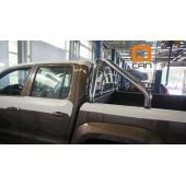 Защитная дуга кузова (с решеткой) Volkswagen Amarok (2009-) d70
