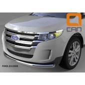 Защита переднего бампера Ford Edge (2014-) (одинарная) d 76