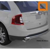 Защита заднего бампера Ford Edge (2014-) (одинарная) d 76