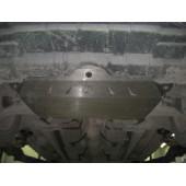 Защита картера двигателя и кпп Toyota Camry (Тойота Камри) V-все (2006-2011) (Алюминий 4 мм)