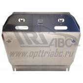 Защита картера двигателя и кпп Nissan Juke V-1.6 (2011-)  (Алюминий 4 мм)
