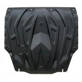 Защита картера двигателя и кпп KIA Venga (V-все, 2011-2015-)  (Композит 6 мм)
