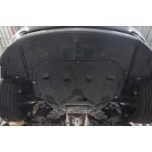 Защита картера двигателя и кпп Kia Ceed (Киа Сид) V-все (2015-)/Hyundai I30 (2015-) (Композит 6 мм)