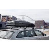 Бокс на крышу Carver III 5.6 177x77x42 370л черный матовый