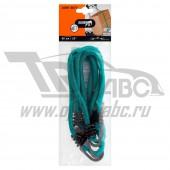 Ремень крепежный Jumbo эластичный 80см (2 шт.)(до 20кг) двойной крючок