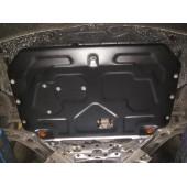 Защита картера двигателя и кпп Kia Soul (V-все, 2014-)  А штамп