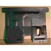 Защита картера двигателя и кпп Daewoo Matiz (V-все, 1998-)  штамп. (Сталь 1,8 мм)