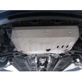 Защита картера двигателя и кпп Kia Venga (V-все, 2011-2015-)  (Сталь 1,8 мм)