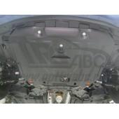 Защита картера двигателя и кпп Kia Ceed (Киа Сид) V-все(2015-)/Hyundai I30 V-все(2015-) штамп. (Сталь 1,8 мм)