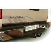 ТСУ для NISSAN NAVARA Double Cab (D40) (со ступенькой) 2005-... F
