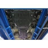 Защита картера двигателя и кпп Suzuki Grand Vitara JT V-все (2005-) , из 2-х частей (Композит 8 мм)