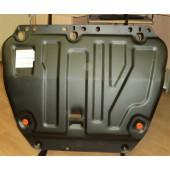 Защита картера двигателя и кпп Ford Focus (V-все, 2011-2015-)  штамп (Сталь 1,8 мм)