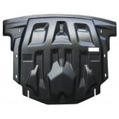 Защита картера двигателя и кпп Kia Sorento (Киа Соренто) (V-все, 2012-)  (Композит 8 мм)