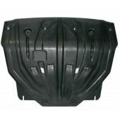Защита картера двигателя и кпп Kia Sportage (Киа Спортаж) (V-все, 2010-)  (Композит 8 мм)